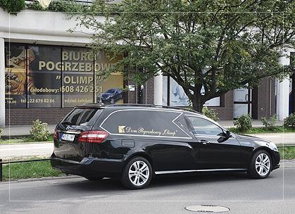 Dom Pogrzebowy Olimp w Warszawie
